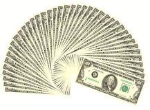 Quatro mil dólares Fotografia de Stock Royalty Free