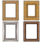 Quatro molduras para retrato Imagens de Stock Royalty Free