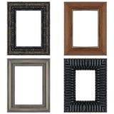 Quatro molduras para retrato Imagem de Stock Royalty Free