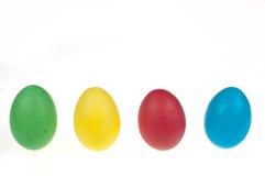Quatro ovos de Easter Imagem de Stock Royalty Free