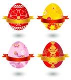 Quatro ovos de easter, vetor ilustração do vetor
