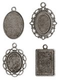 Quatro pendentes Fotos de Stock Royalty Free