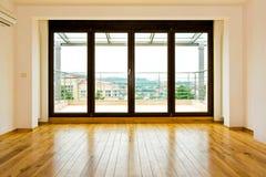 Quatro portas de vidro fotografia de stock royalty free
