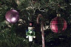 Quatro quinquilharias do Natal Fotografia de Stock Royalty Free
