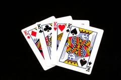 Quatro reis Imagens de Stock Royalty Free