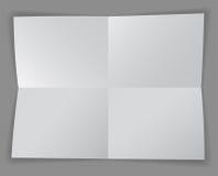 Quatro seções ilustração stock
