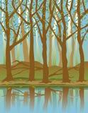 Quatro Seasons_Spring ilustração do vetor