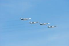 Quatro Su-24 Fotografia de Stock