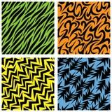 Quatro testes padrões Foto de Stock Royalty Free