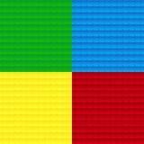 Quatro texturas ilustração do vetor