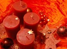 Quatro velas Imagem de Stock Royalty Free