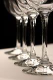 Quatro vidros Imagem de Stock Royalty Free