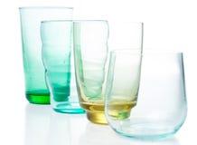 vidros Multi-coloridos do vintage fotos de stock royalty free