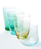 vidros Multi-coloridos do vintage fotografia de stock