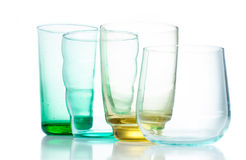 vidros Multi-coloridos do vintage imagem de stock