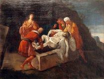 quattordicesima via Crucis immagine stock