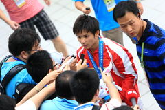 quattordicesimi campionati del mondo di fina - Schang-Hai 2011 Fotografia Stock Libera da Diritti