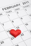 quattordicesimo del febbraio 2011 Fotografia Stock