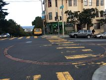 quattordicesimo e cisterna di Castro Streets, 2 Immagini Stock