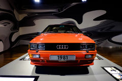 Quattro Audis 80 stockbilder