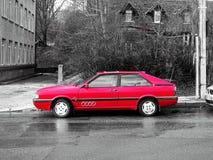 Quattro Audis Turbo Stockfoto
