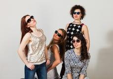 Quattro belle donne Fotografia Stock