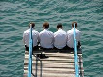 Quattro bouys Fotografia Stock Libera da Diritti