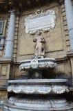 Quattro Canti a Palermo, il quadrato di quattro angoli fotografia stock