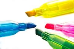 Quattro colori Immagine Stock
