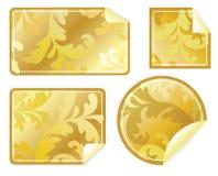 Quattro contrassegni vuoti   royalty illustrazione gratis