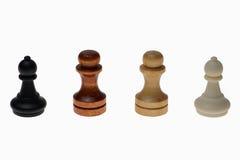 Quattro corse di umanità Immagini Stock