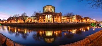 Quattro corti, Dublino, Irlanda immagine stock