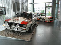 Quattro d'Audi photo libre de droits