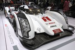 Quattro d'e-tron d'Audi R18 Photos stock