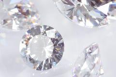 Quattro diamanti Fotografie Stock Libere da Diritti