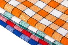 Quattro dishcloths colorati Immagine Stock