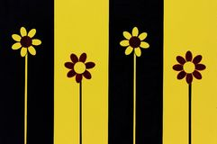 Quattro fiori Immagine Stock