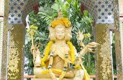 Quattro fronte Buddha Immagini Stock Libere da Diritti