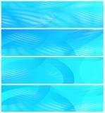 Quattro intestazioni di Web site illustrazione vettoriale