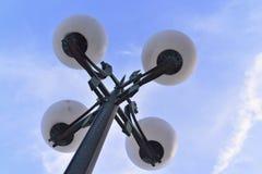 Quattro lampade Fotografia Stock