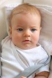 Quattro mesi del bambino Immagine Stock