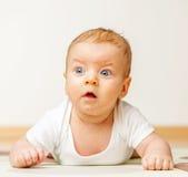 Quattro mesi del bambino Immagini Stock Libere da Diritti
