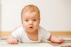 Quattro mesi del bambino Immagine Stock Libera da Diritti