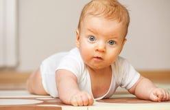 Quattro mesi del bambino Fotografie Stock Libere da Diritti