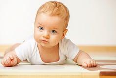 Quattro mesi del bambino Fotografia Stock Libera da Diritti