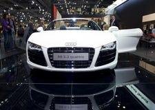 Quattro neuf d'Audi R8, Spyder, voiture de sport Photos libres de droits
