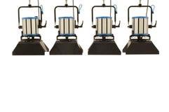 Quattro proiettori. fotografie stock