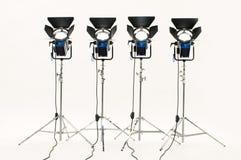 Quattro proiettori. immagini stock