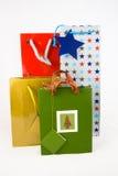 Quattro sacchetti del regalo Immagine Stock Libera da Diritti