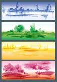 Quattro stagioni Royalty Illustrazione gratis